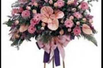 Kütahya'da Açılış İçin Çiçek Gönderme