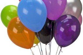 Uçan Balonla Parti Süslemesi